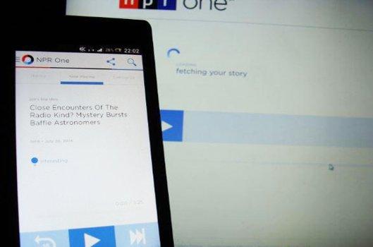 NPR One funktioniert am PC und auf dem Smartphone gleichermaßen.