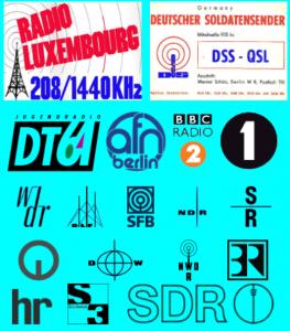 Die Logos verschiedener Rundfunksender im Screenshot der Seite rias1.de.