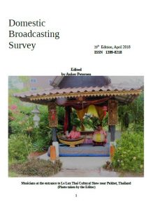 Domestic Broadcasting Survey 2018