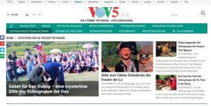 Website der Voice of Vietnam